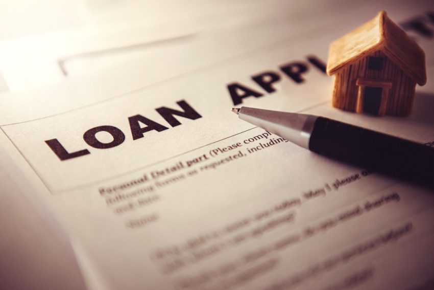 Mortgage loan application for a house in Kenosha, Wisconsin