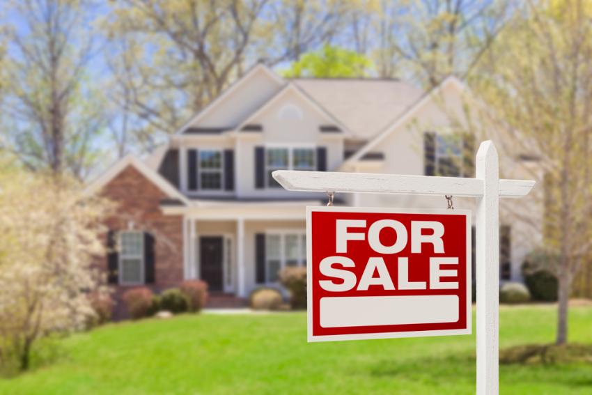 New house with a mortgage company in O'Fallon, Illinois
